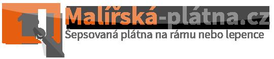 Malířská-plátna.cz Malířská Plátna - malířské plátno šepsované na rámu.