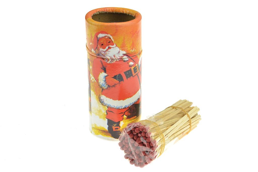Vánoční sirky (10cm) - Červené balení