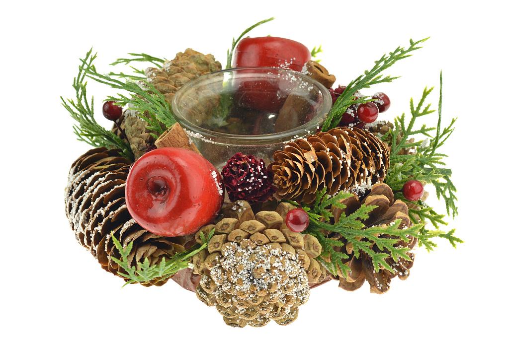 Vánoční stojan na svíčku