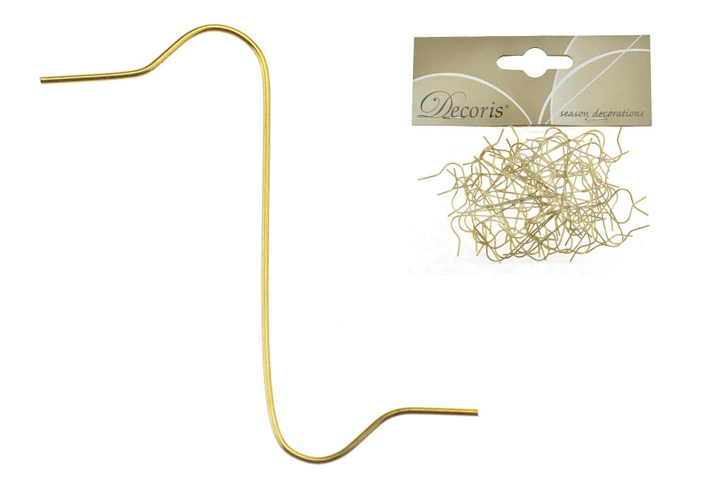 Zlaté háčky - Set 50ks