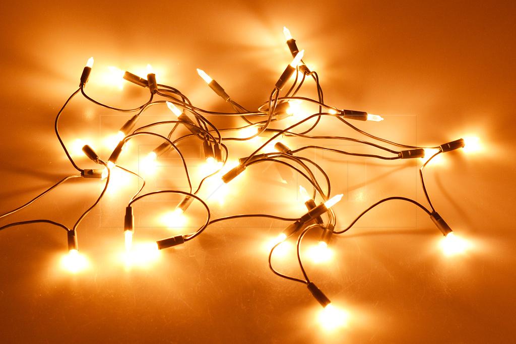 Okruhová LED světýlka do interiéru (4.3m) 35 diod - Extra teplá bílá