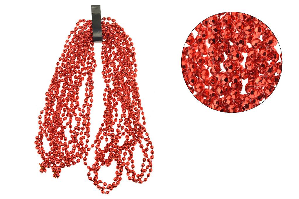 Vánoční řetěz (2.7m) - Červené diamanty