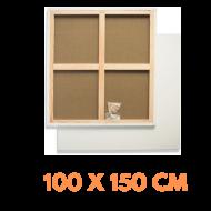 Malířské plátno na rámu 100 x 150 cm