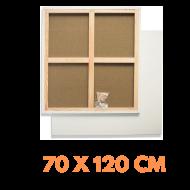 Malířské plátno na rámu 70 x 120 cm