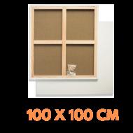 Malířské plátno na rámu 100 x 100 cm