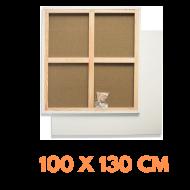 Malířské plátno na rámu 100 x 130 cm