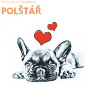 Polštář - Buldoček - Láska