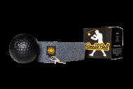 Boxovací míček- černý s čelenkou