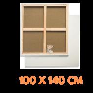 Malířské plátno na rámu 100 x 140 cm