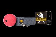 Boxovací míček- červený s čelenkou