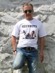 Tričko Buldoček - Security