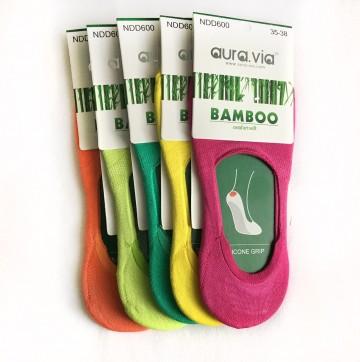 Dámské ťapky - Bambusové mix barev  - 3 páry vel. 35 - 38