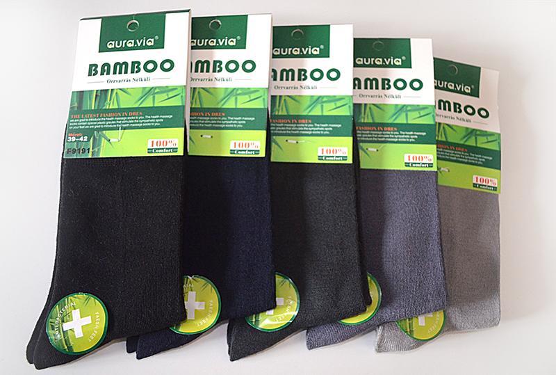 Bambusové ponožky - 5 párů vel. 43 - 46