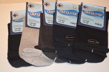 Bavlněné zdravotní ponožky vel. 43 - 46 mix barev 5 párů