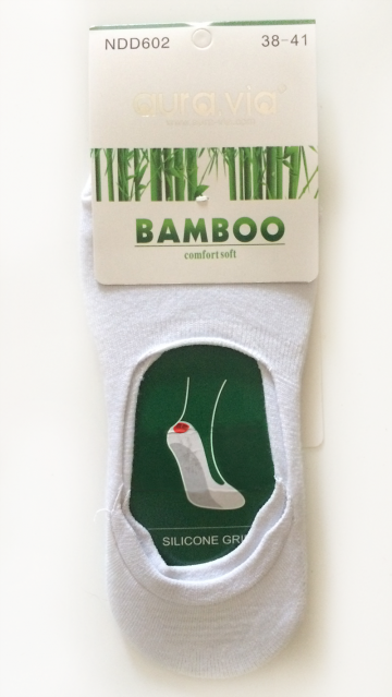 Bambusové dámské ťapky -  bílé - 1 pár vel. 35 - 38