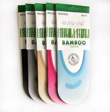Dámské ťapky - Bambusové silonky - 5 párů vel. 35-38