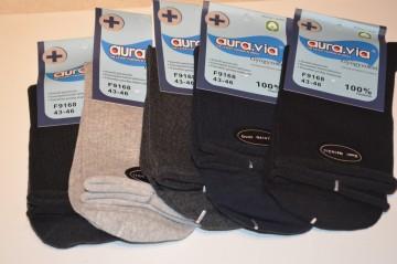 Bavlněné zdravotní ponožky vel. 38-41 mix barev 5 párů