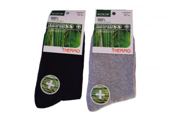 Termo Bambusové ponožky - 2 páry  vel. 39-42 černé
