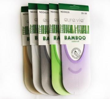 Dámské ťapky - Bambusové silonky - 5 párů vel. 38 - 41
