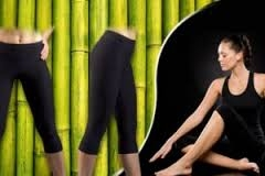 Legíny z bambusového vlákna vel. 38 - 42 sleva - poslední nkusy