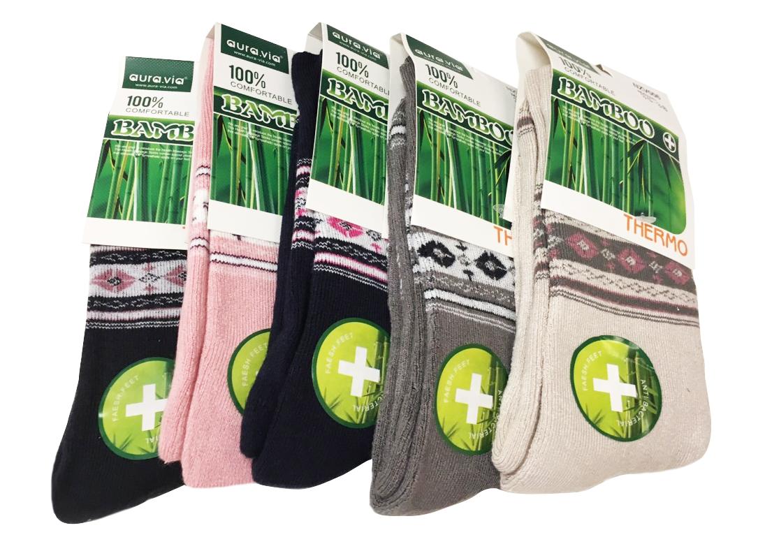 Termo Bambusové ponožky - 2 páry vel. 35-37