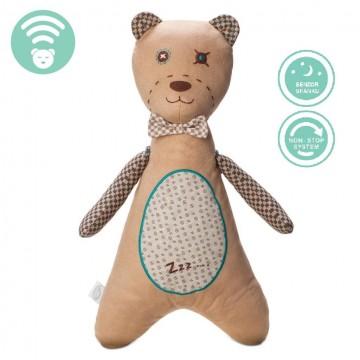 Šumící medvídek PANÁČEK HNĚDÝ -  senzor spánku
