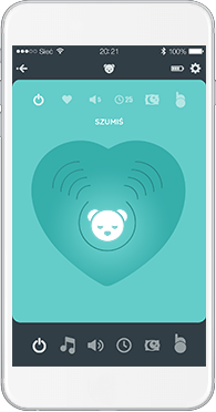 myHummy Bluetooth APLIKACE -  senzor spánku