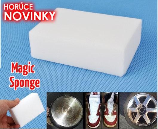Magic Sponge - zázračná melamínová hubka