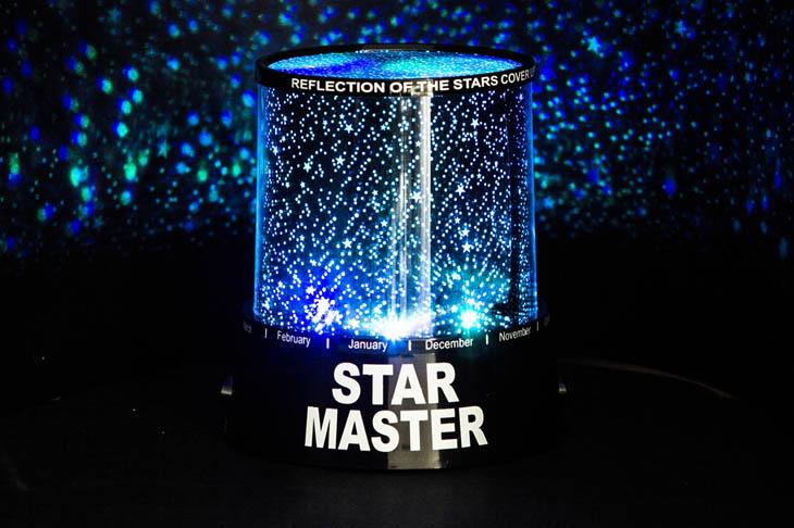 Projektor noční oblohy STAR MASTER -  uspí vaše děti
