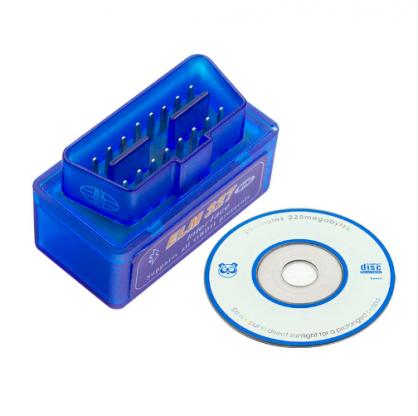 Automobilová diagnostická jednotka ELM 327 ELM327Bluetooth univerzálna Auto Diagnostika umožňuje bezdrôtový prenos na čítanie diagnostických chybových kódov azobrazovanie ich významov, viac ako 3000kódov vdatabáze.