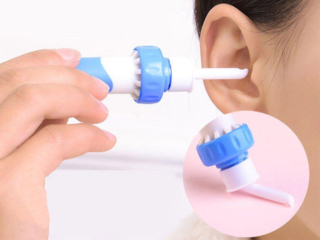 Vákuový čistič ušného mazu Čisté uši môže mať s týmto elektrickým čističom uší naozaj každý!Jemne a bezbolestne odstráni nahromadený ušný maz.
