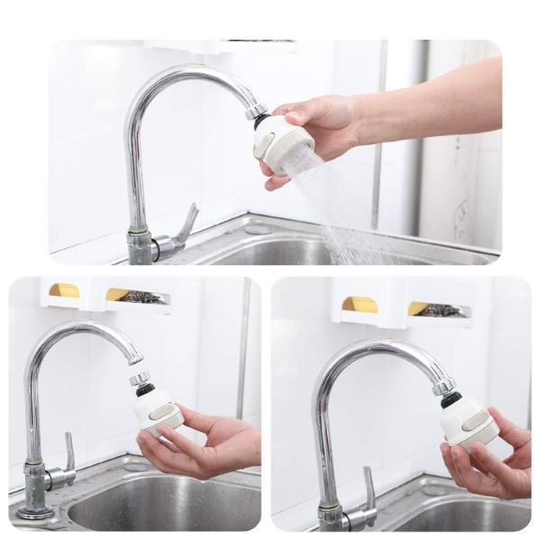 Úsporný adaptér na vodu Doplňte Váš kohútik úsporným adaptérom a nástavcom na vodovodný kohútik a zabezpeč si múdru spotrebu vody!  UŠETRI AŽ DO 80% VODY ZA MINÚTU   Už žiadne veľké účty za spotrebu vody!   OBRAT O 360 STUPŇOV    Rotačný adaptér pre krúživý pohyb.    VÝKONNÝ FILTER    Úspešne zastaví znečistené čiastočky a pevné látky.    3 STUPNE PRÚDU    Priamy prúd alebo jemná sprcha.