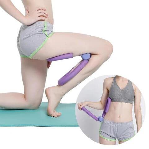 Posilňovač stehenných a prsných svalov Posilňovač stehenných a prsných svalov je jednoduchým fitness pomocníkom, ktorý Vám pomôže dokonale vytvarovať hornú aj dolnú polovicu tela.