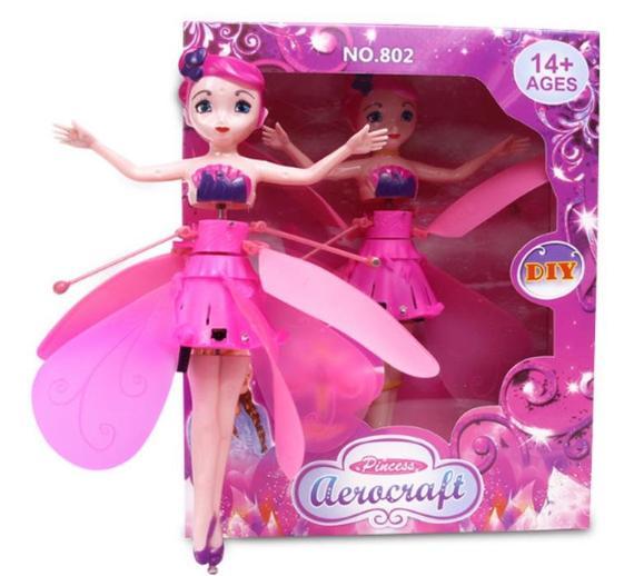 Magická lietajúca víla Krásna lietajúcabábika je snom každéhodievčatka, táto víla jej splní všetky želania.