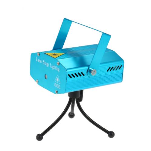 Mini laserový projektor Mini laser s farebnými diódami vhodný pre rodinné oslavy, malé kluby, bary, reštaurácie alebo aj ako doplnok pre milovníka hudby, ktorý si rád urobí doma malú diskotéku s týmto zaujímavým efektom.  Červené a zelené laserové lúče vytvárajú zaujímavé animované vzory na stenu alebo na strop s použitím alebo bez použitia hmly.