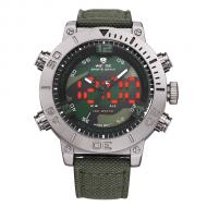 Pánské masivní hodinky Weide - Maskáčové