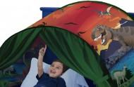 Magický stan na postel - pro klidné spaní dětiček - dinosaurus + poštovné jen za 1 Kč
