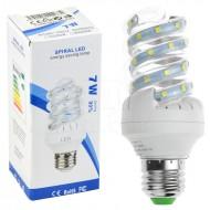LED žárovka spirálová E27 - 7W + poštovné jen za 1 Kč
