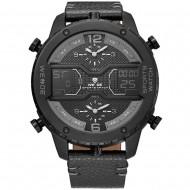Pánské masivní hodinky Weide Luxury - Šedé