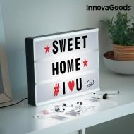 LED Tabule na Vzkazy Cinema InnovaGoods + poštovné jen za 1 Kč