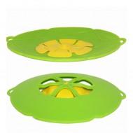 Nepřetékající silikonová poklička - zelená + poštovné jen za 1 Kč