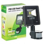 LED závěsné světlo s čidlem - 10W - černé + poštovné jen za 1 Kč