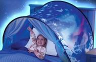Magický stan na postel - pro klidné spaní dětiček - sněhová obloha + poštovné jen za 1 Kč
