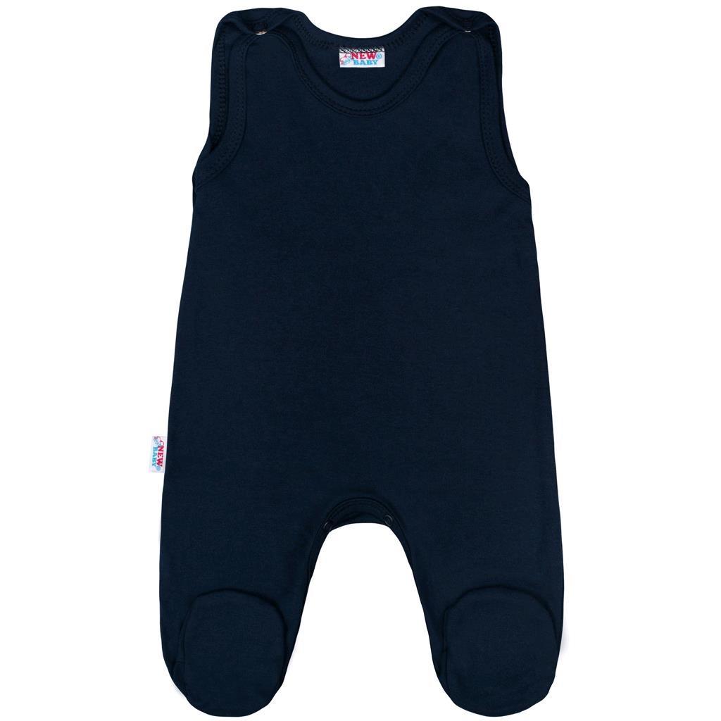 Kojenecké dupačky New Baby Classic II tmavě modré | Velikost: 56 (0-3m)