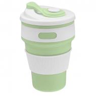 Praktyczny kubek silikonowy - zielony + opłata pocztowa tylko 1zł