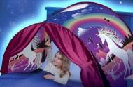 Cort magic pentru pat - pentru somnul liniștit al copiilor - inorog + livrare la doar 1 RON
