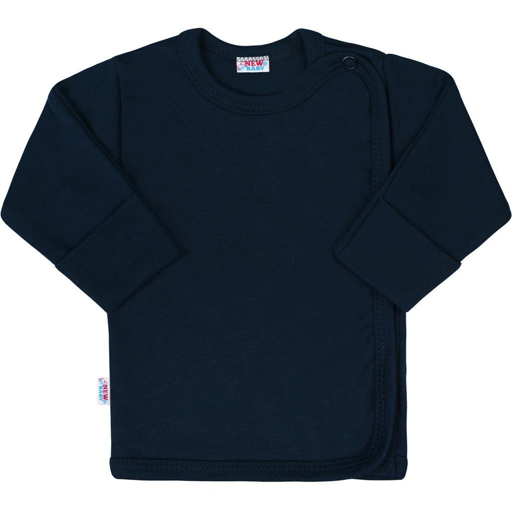 Kojenecká košilka New Baby Classic II tmavě modrá - Velikost: 56 (0-3m)