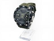 Pánské  hodinky Charles Delon - Zelené 5761