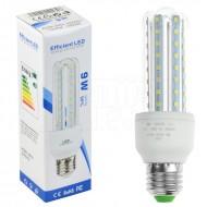 LED žárovka E27 - 9W + poštovné jen za 1 Kč