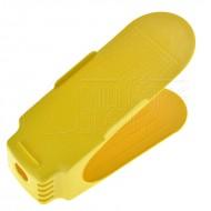 Kunststoffschuh-Organizer - gelb